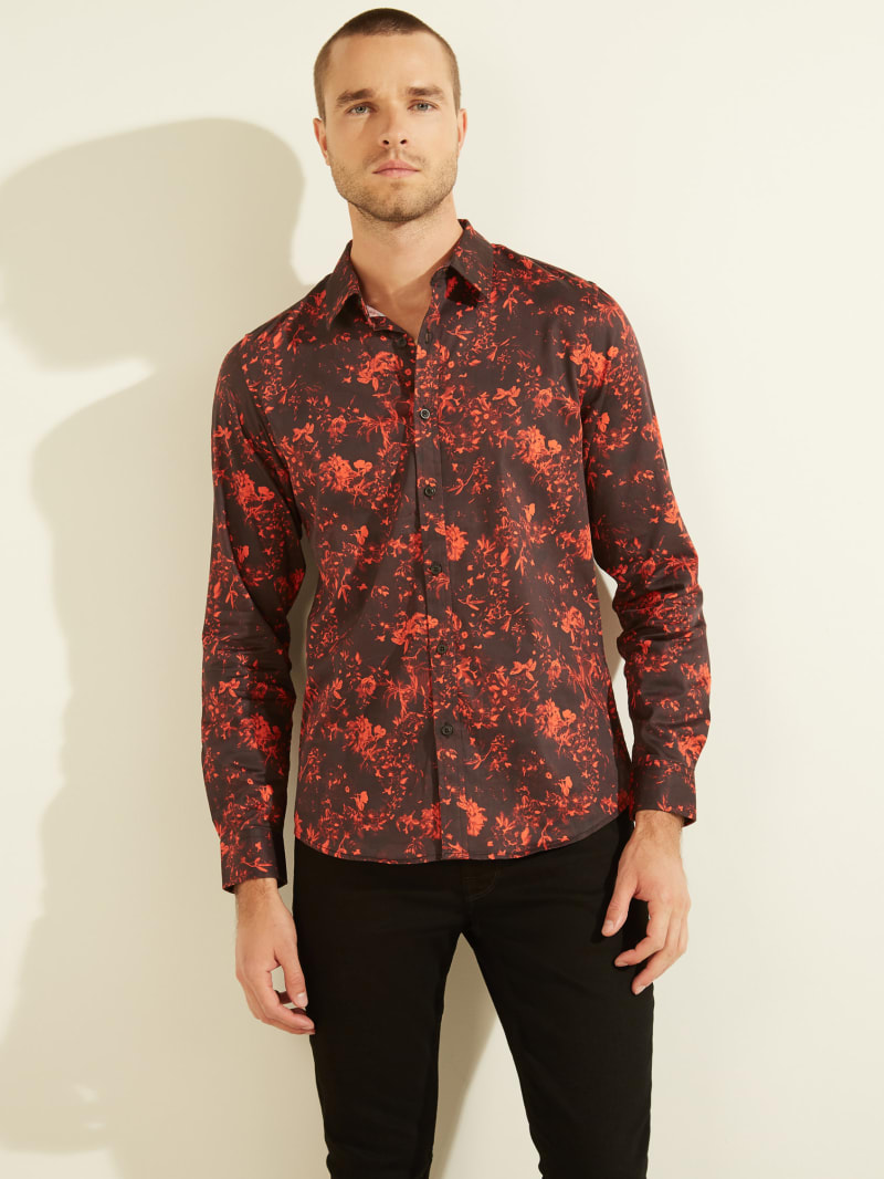 Luxe Mayfair Floral Shirt