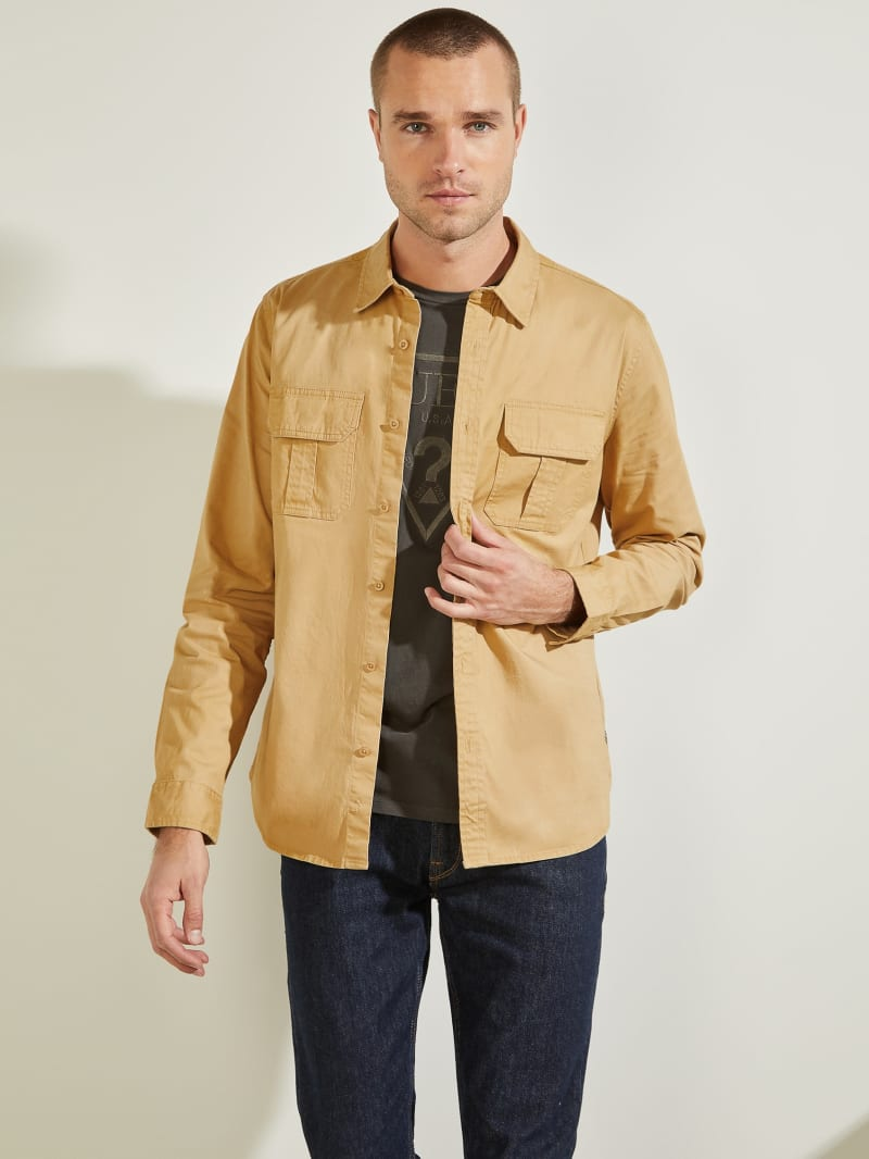 Dusty Twill Washed Milton Shirt