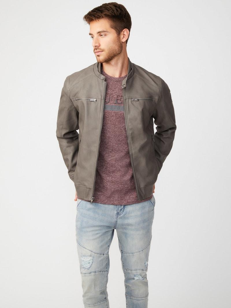 Alvar Faux-Leather Jacket