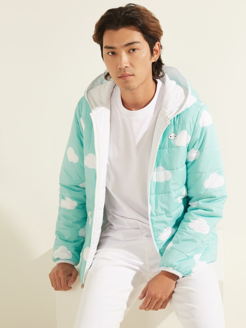 FriendsWithYou x GUESS Clouds Reversible Jacket