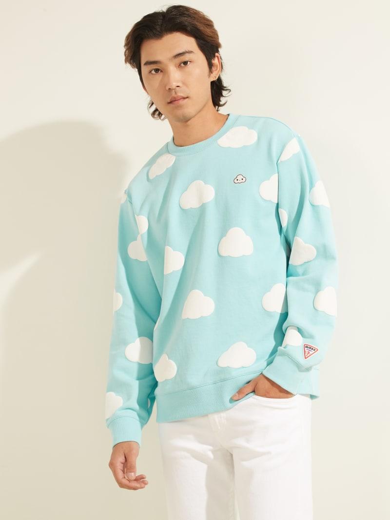 FriendsWithYou x GUESS Clouds Sweatshirt