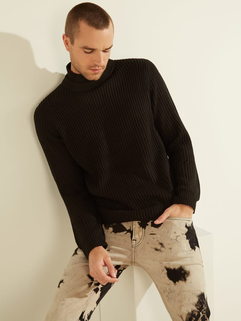 Asher Mock-Neck Sweater