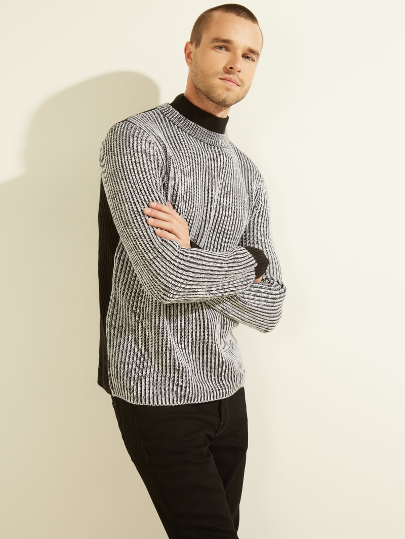 Asher Mock-Neck Sweater