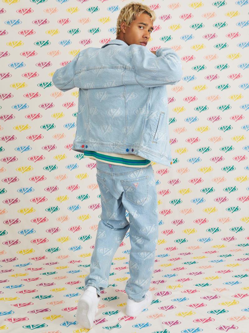 GUESS x J Balvin Logo Dad Jeans