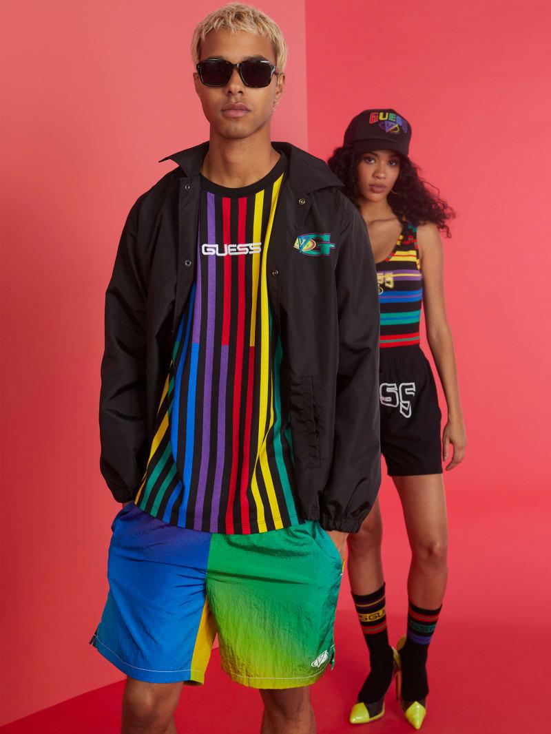 GUESS x J Balvin Prism Nylon Shorts
