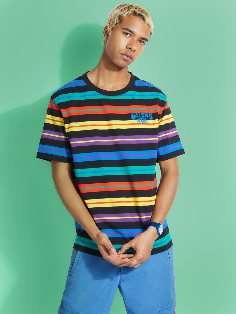 GUESS x J Balvin Horizon Stripes Tee