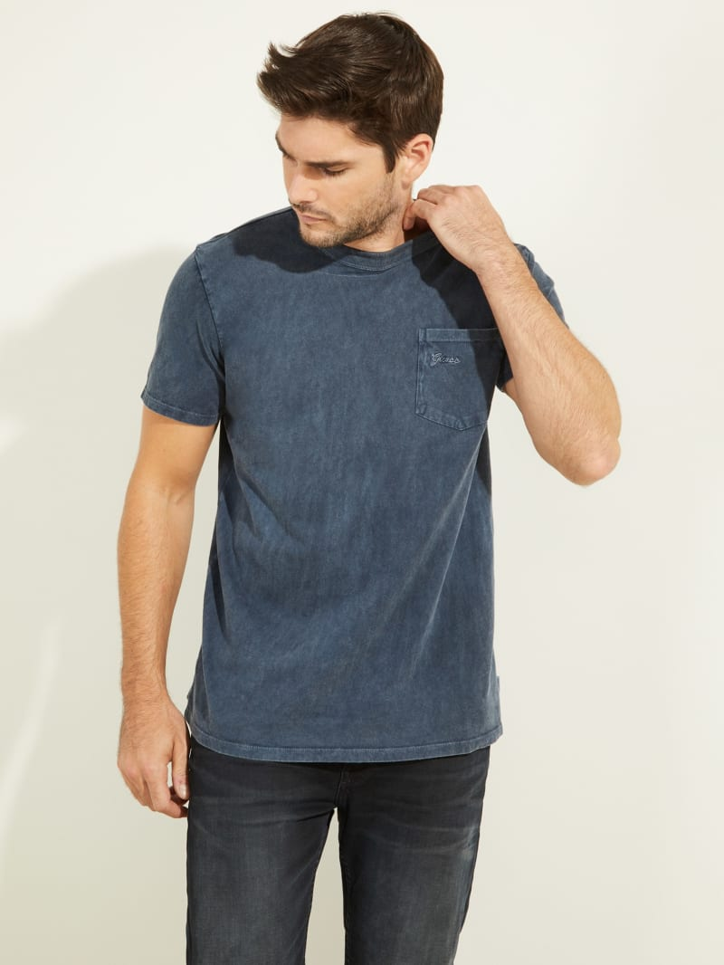 Sueded Jersey Tee