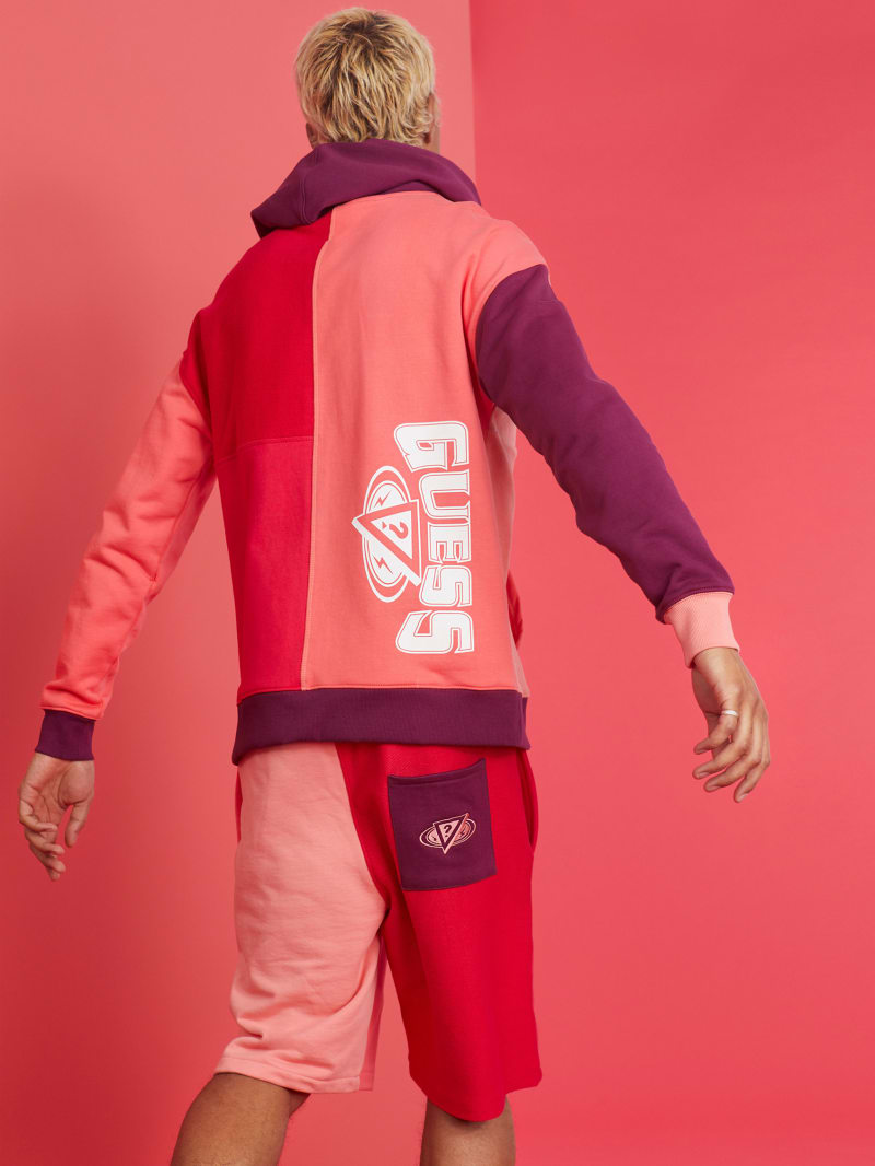 GUESS x J Balvin Color-Blocked Hoodie