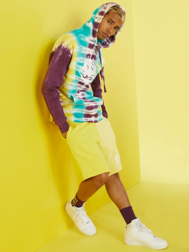 GUESS x J Balvin Color-Blocked Shorts