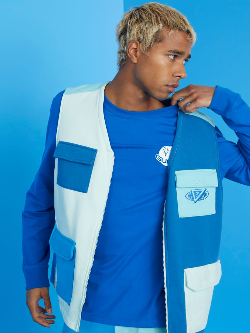 GUESS x J Balvin Color-Blocked Vest