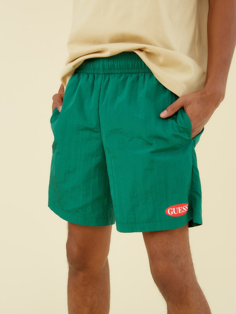 GUESS Originals Nylon Logo Shorts