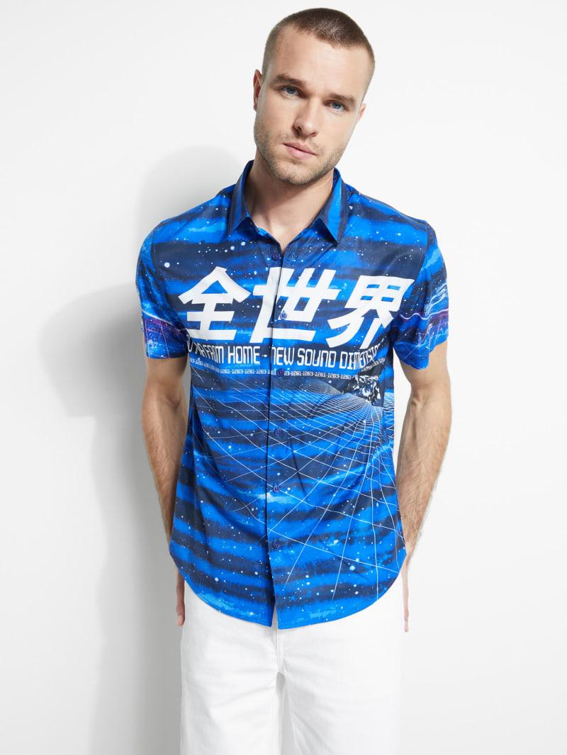 Indigo Galaxy Shirt
