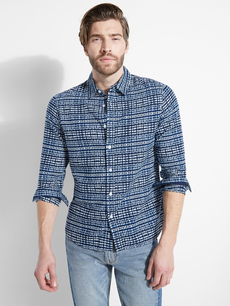 Eric Indigo Sea Shirt