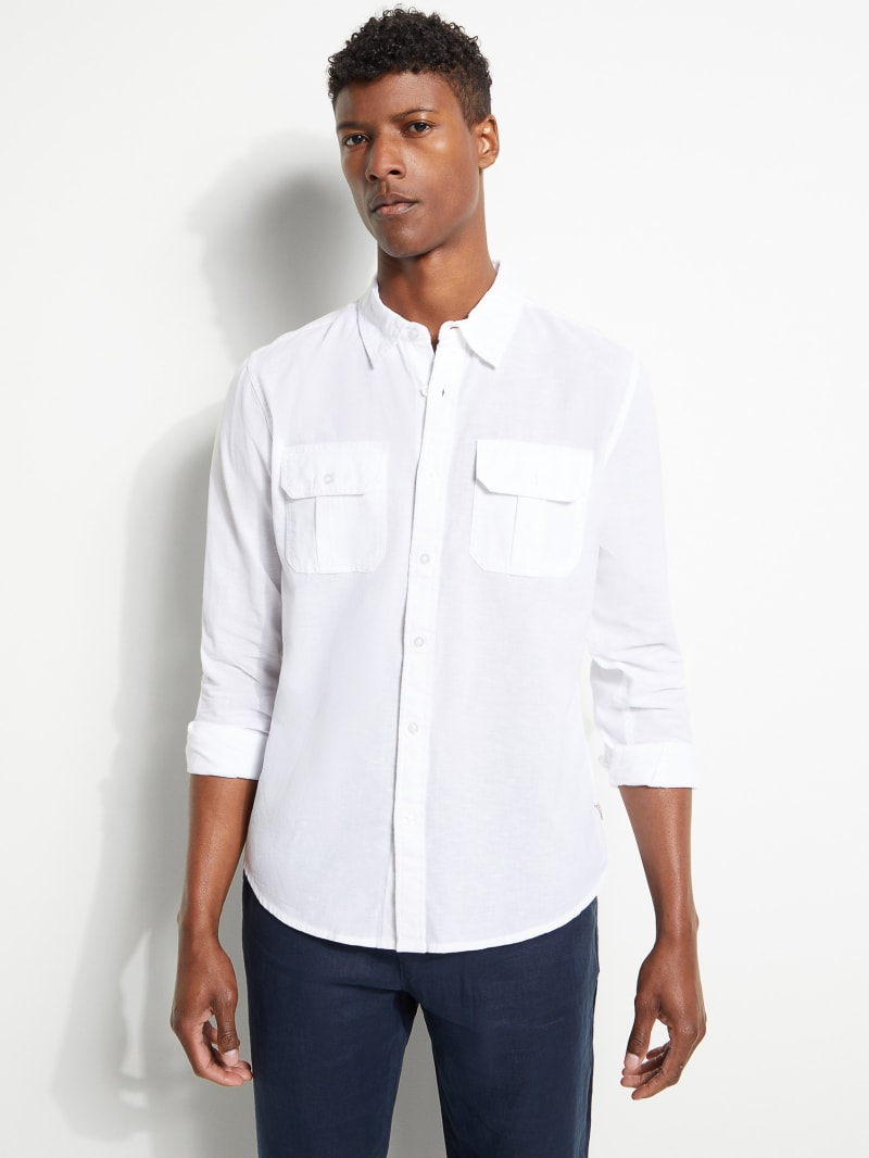 Eric Linen-Blend Shirt