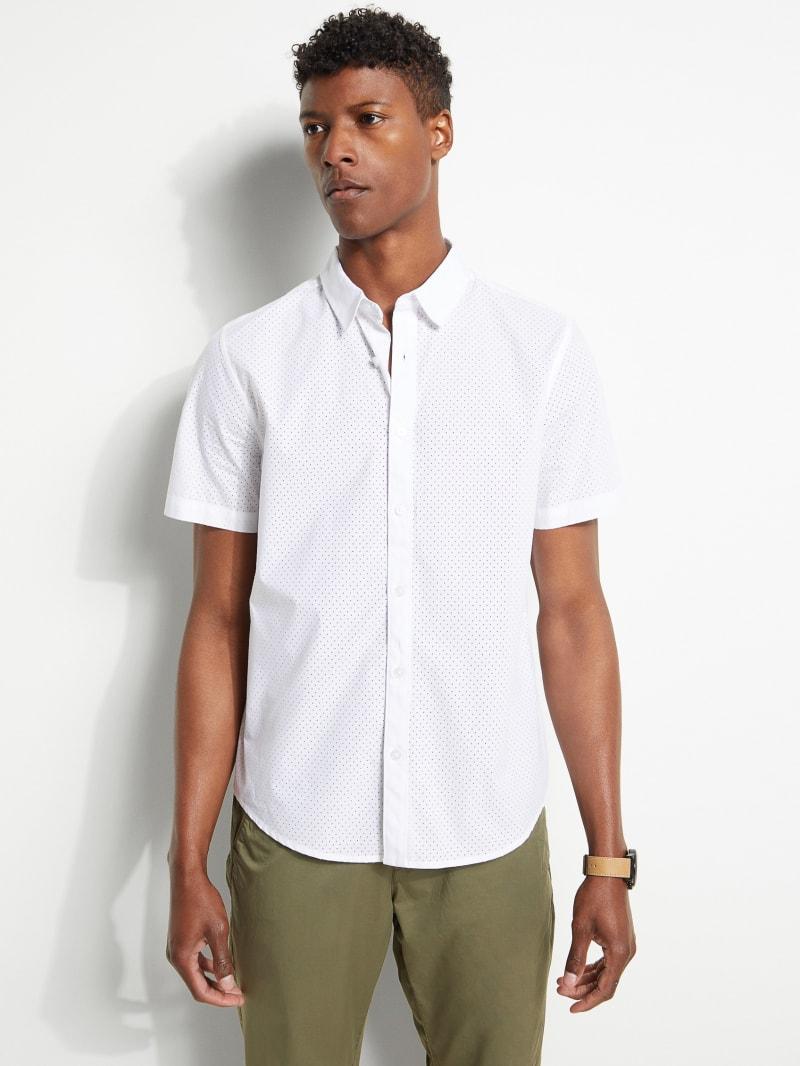 Woven Mesh Shirt