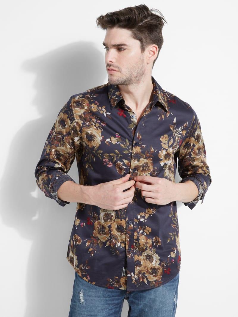 Luxe Botanical Shirt