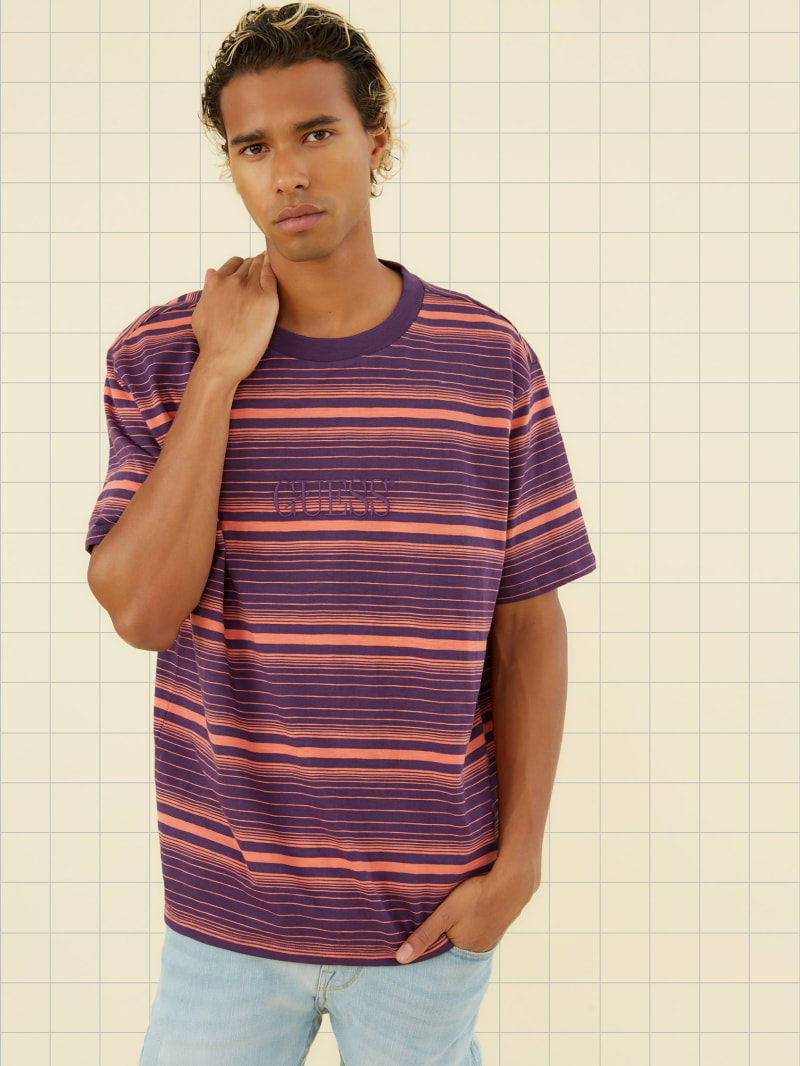 GUESS Originals Cascade Striped Tee
