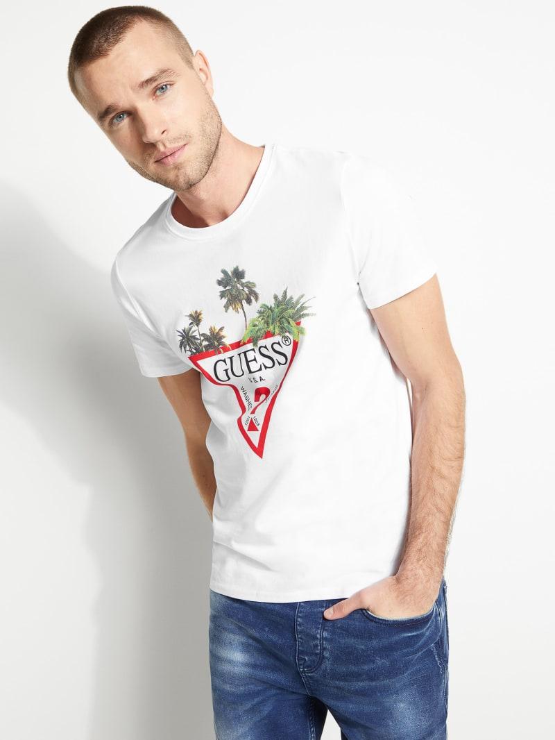 Palm Triangle Logo Tee
