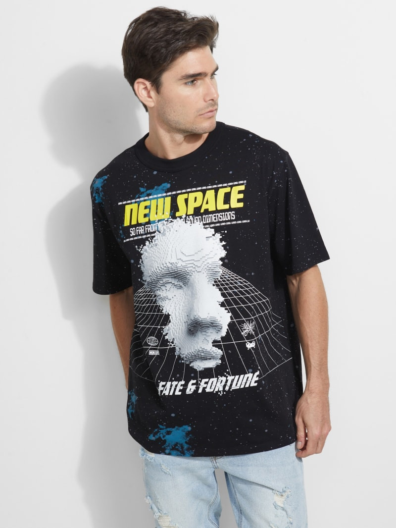 GUESS Eco Oversized Cosmic Trip Tee