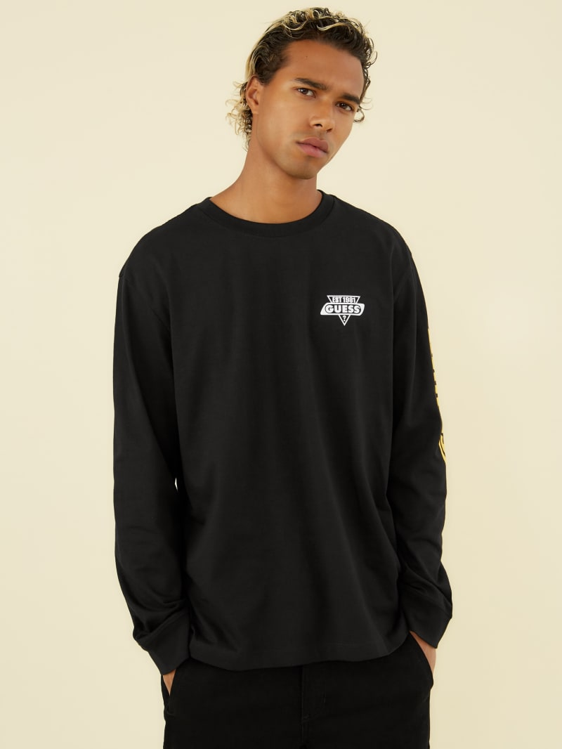 GUESS Originals Racer Long-Sleeve Tee