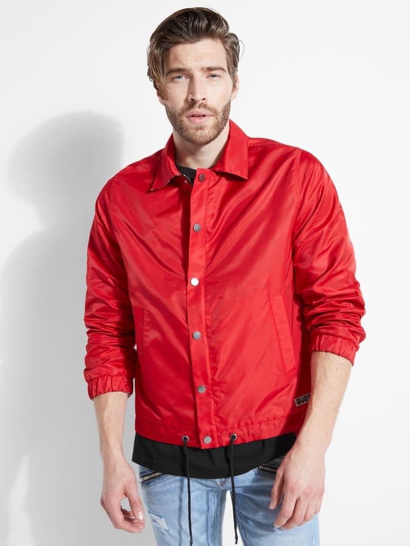 Exo Nylon Reversible Coach Jacket