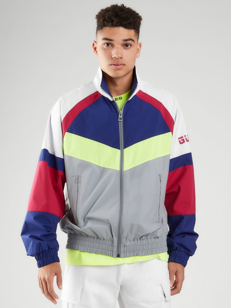 Riot Color-Block Nylon Jacket