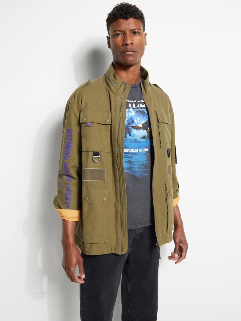 Woven Utility Jacket