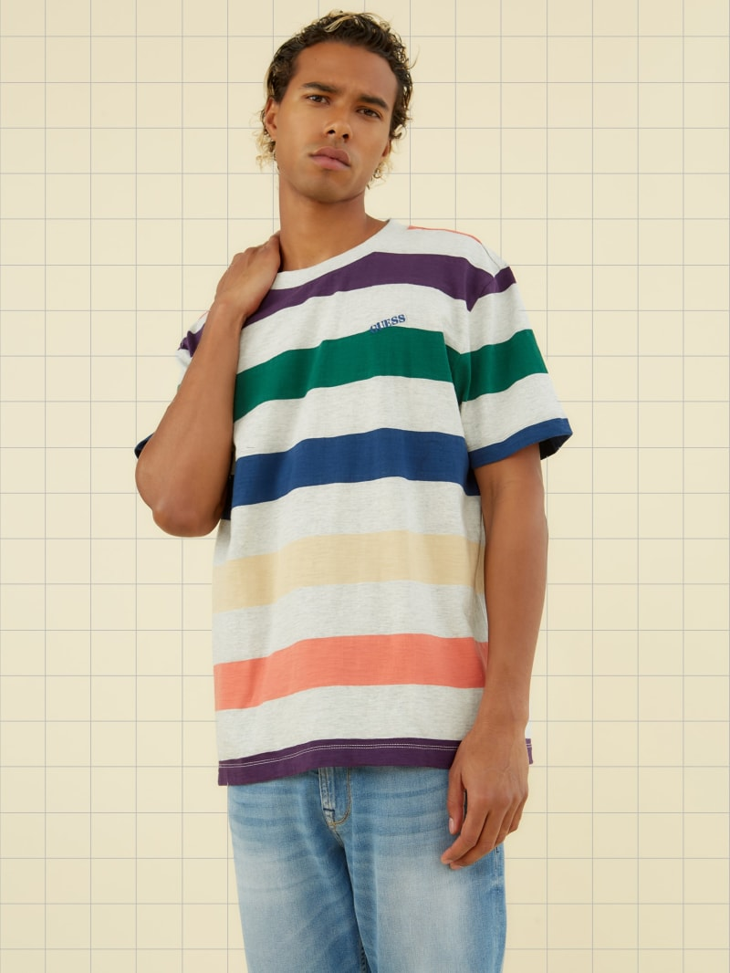 GUESS Originals Multicolor Striped Tee