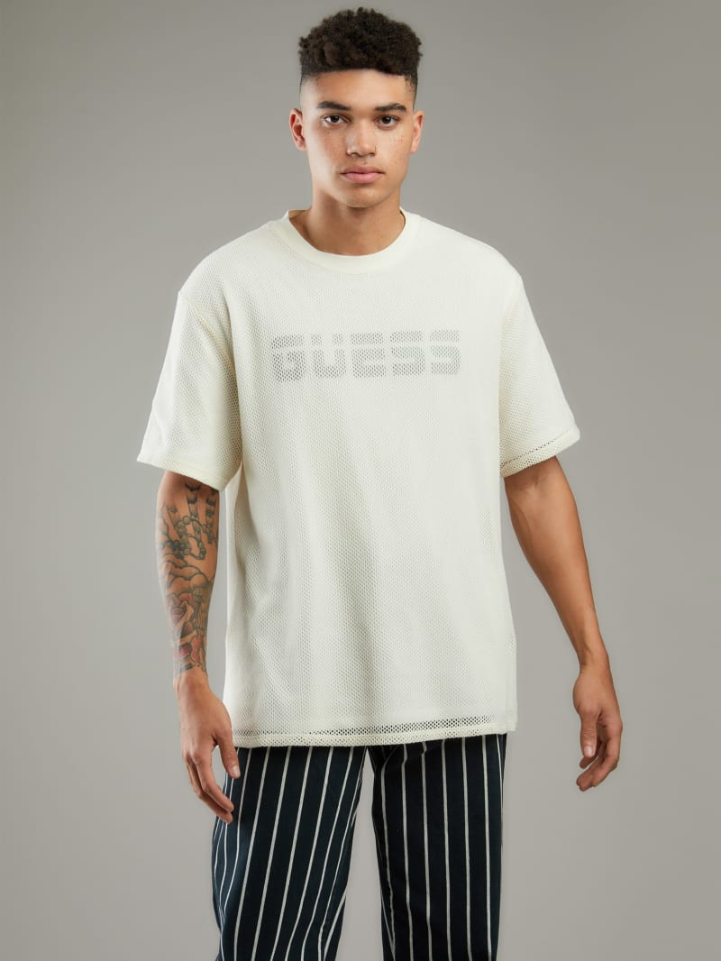 Mesh Reflective Double-Layer Tee