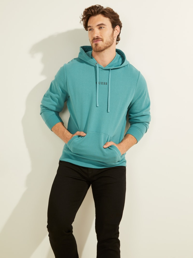 Eco Roy Embroidered Logo Hoodie