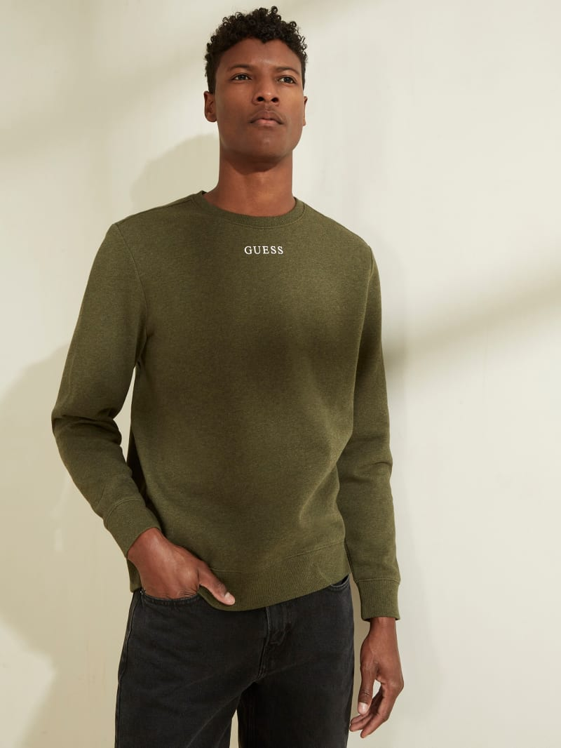 GUESS Eco Roy Logo Sweatshirt