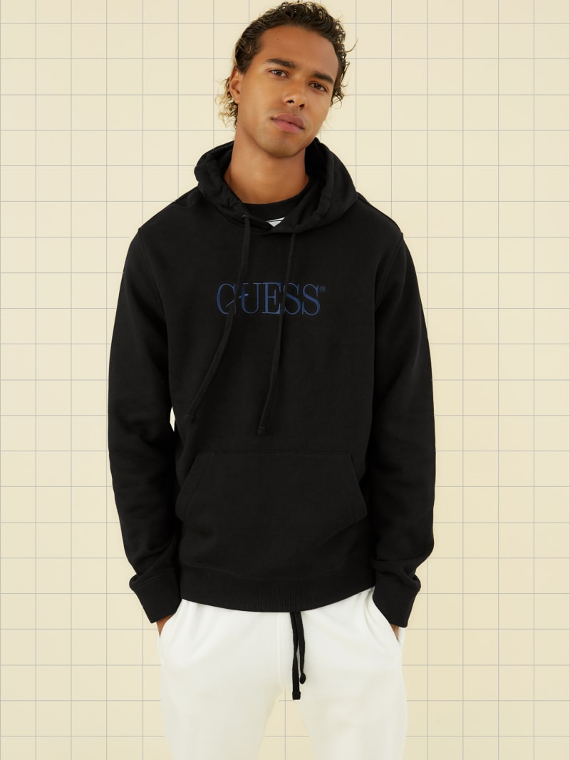 GUESS Originals Fleece Logo Hoodie