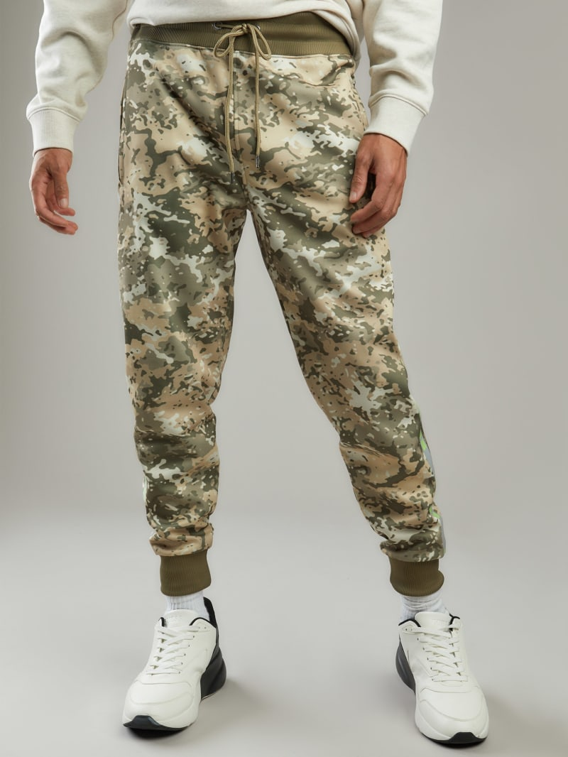 Athletic Fleece Camo Joggers