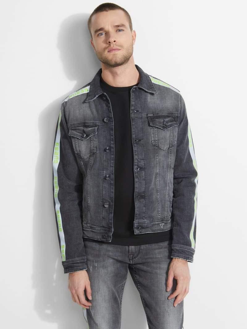 Dillon Reflective Tape Denim Jacket