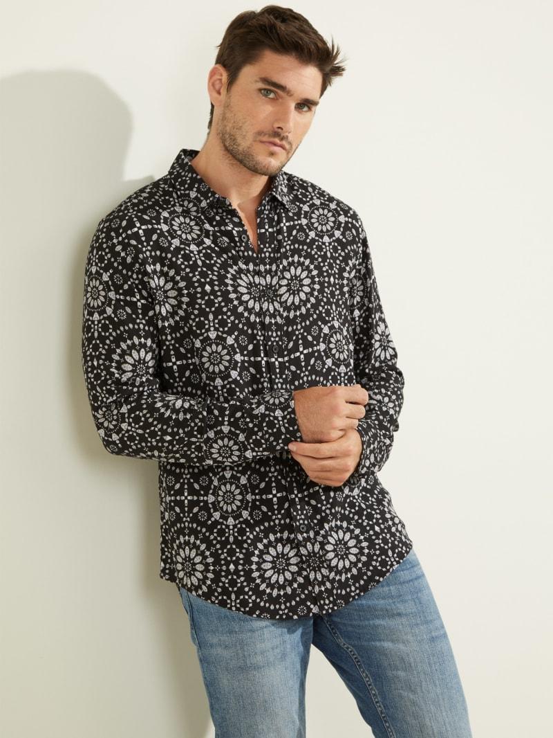 Eco Radial Print Shirt