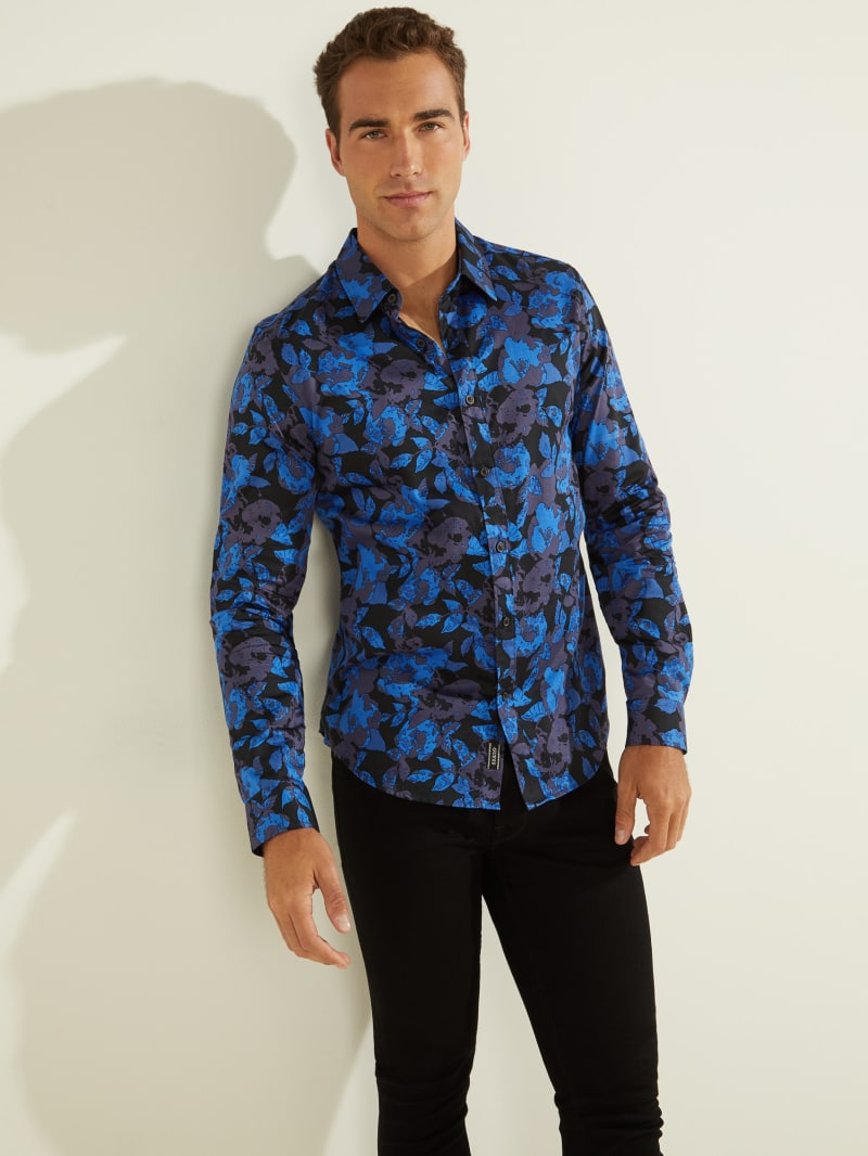 Luxe Midnight Floral Shirt