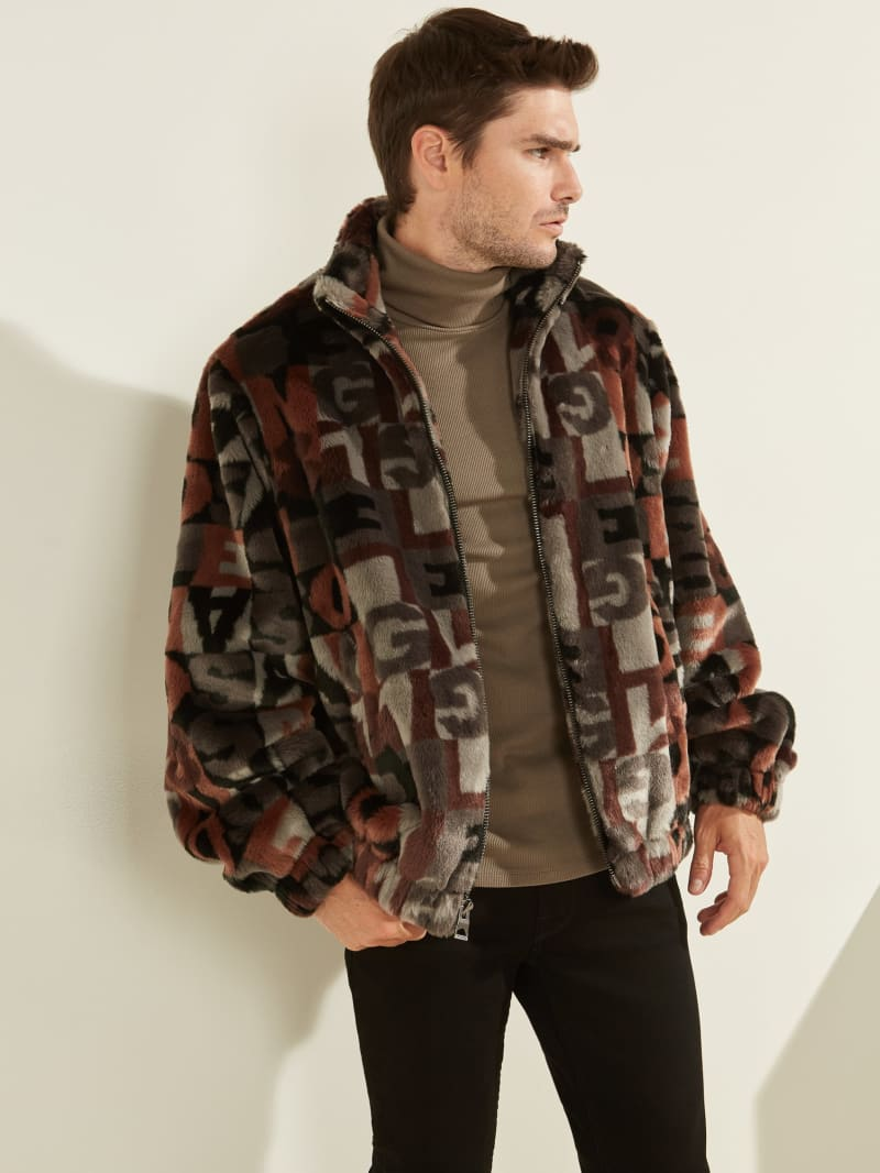 Los Angeles 81 Faux-Fur Coat
