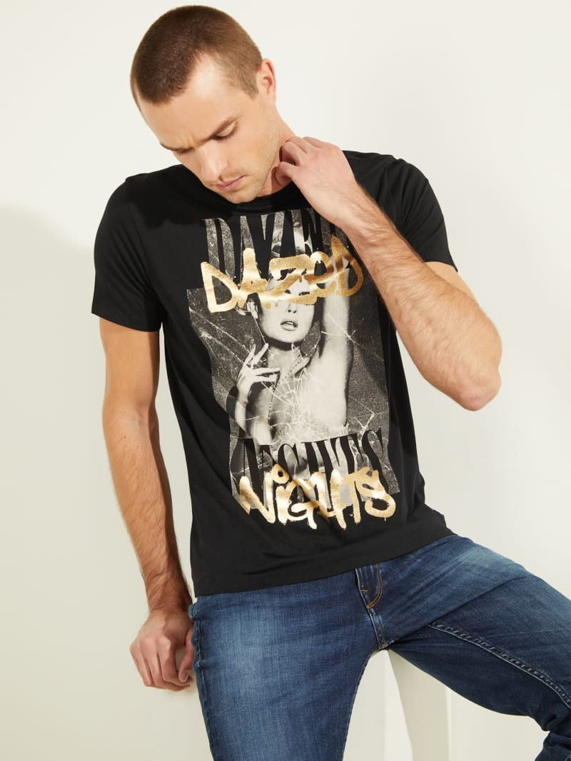Short-Sleeved Dazed Nights Tee