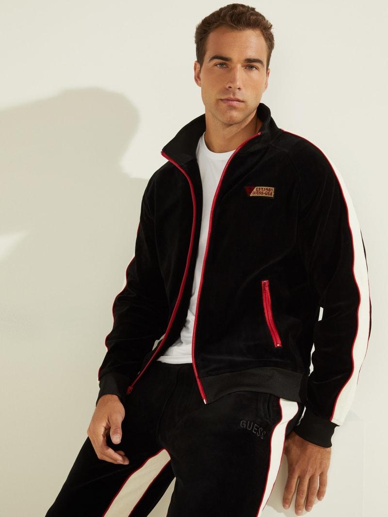 Fulham Velvet Track Jacket