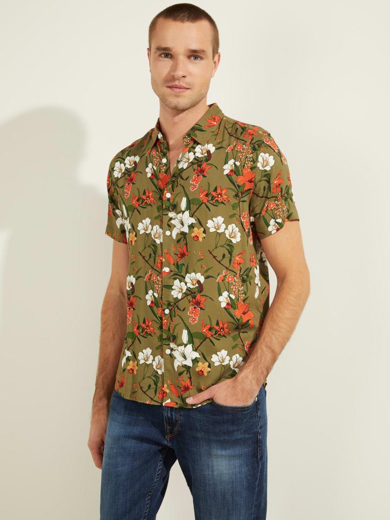 Eco Parachute Floral Shirt
