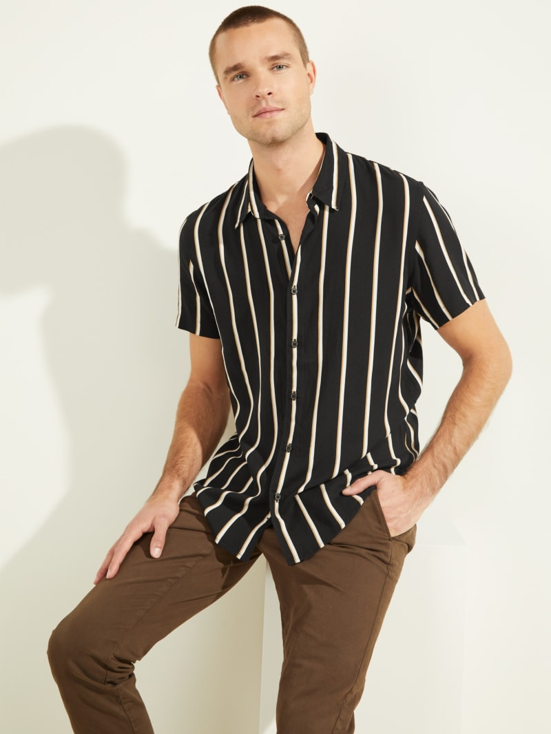 Eco Wayward Striped Shirt