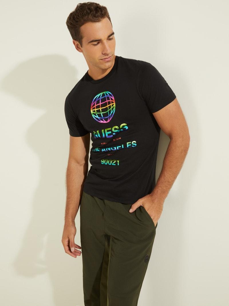 Eco Worldwide Rainbow Logo Tee