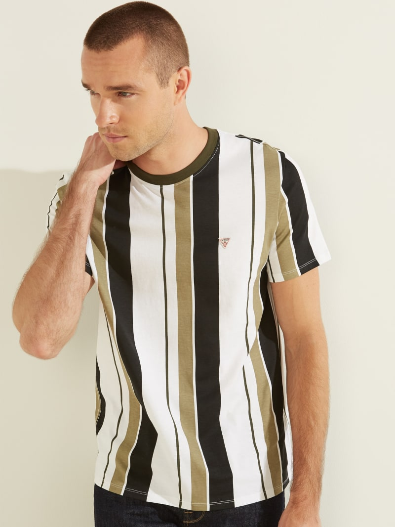Vertical Striped Tee