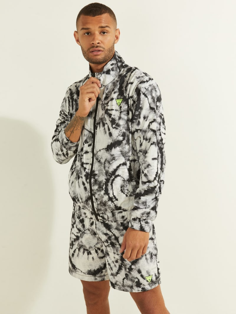 Hunter Tie-Dye Crinkle Jacket