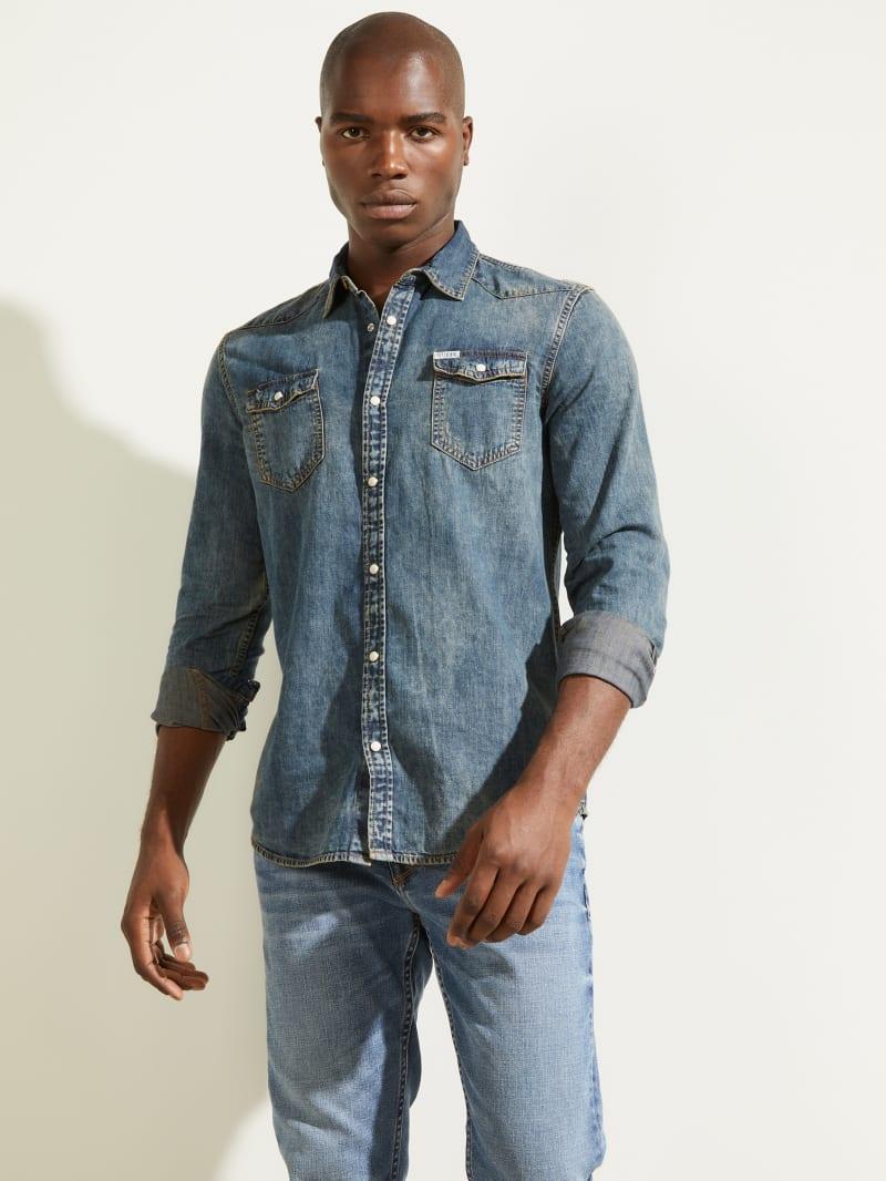 Truckee Denim Western Shirt