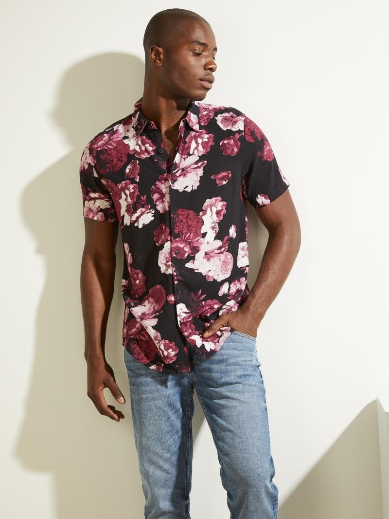 Eco Blackout Floral Shirt
