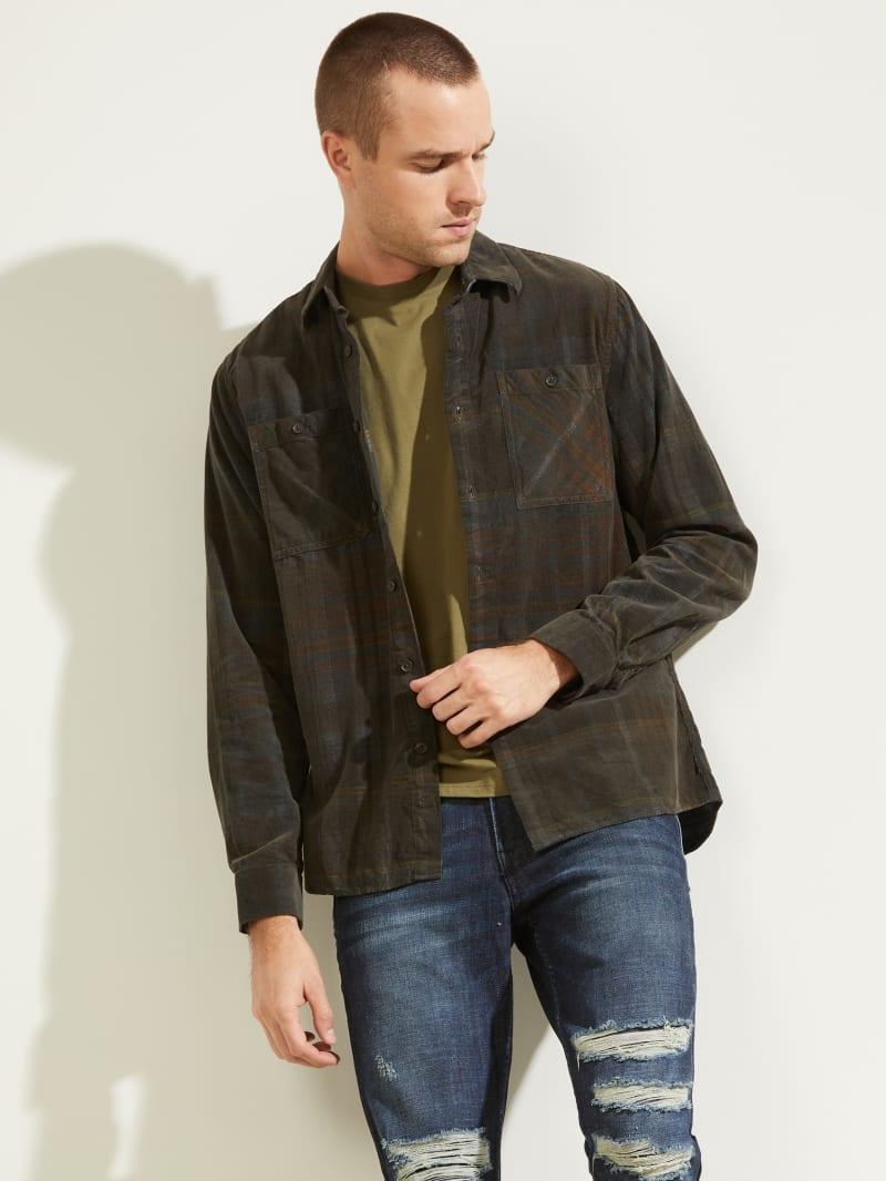 Lincoln Plaid Corduroy Shirt