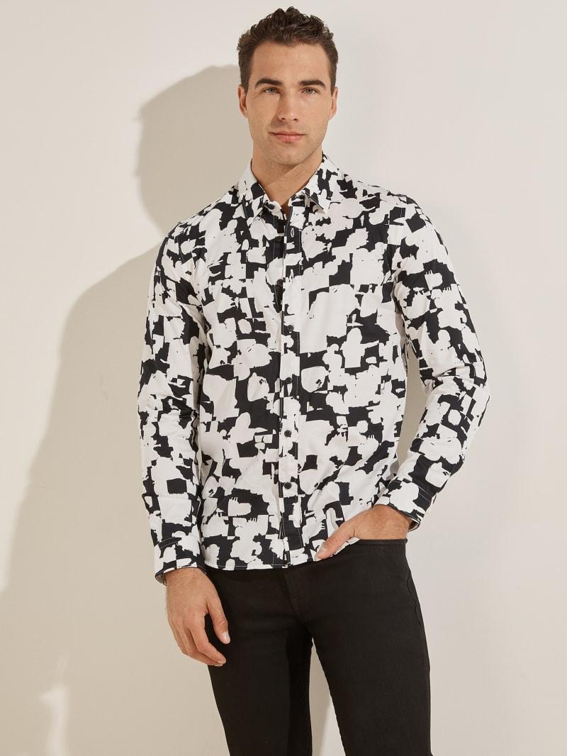 Luxe Abstract Splatter Shirt