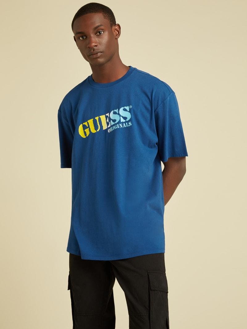 GUESS Originals Ombre Logo Tee