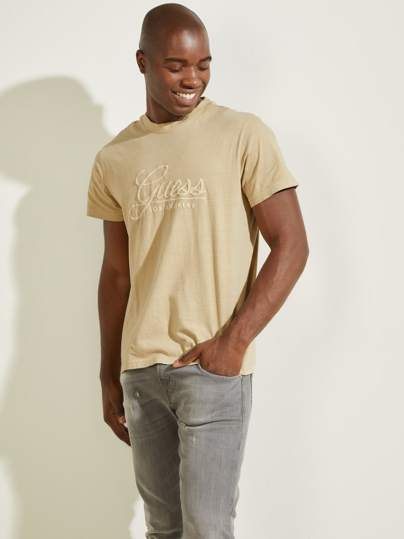 Classical Embroidered Logo Tee